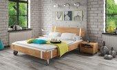 Łóżko WILL na kołach z litego drewna