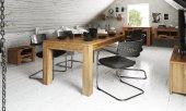 Stół CUBIC nierozkładany z litego drewna