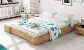 Rama łóżka BIT z litego drewna