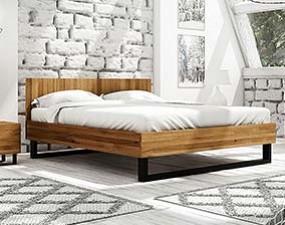 Łóżko STEEL