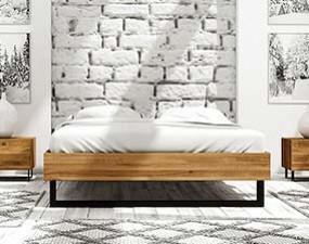 Rama łóżka STEEL