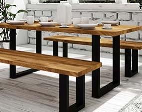 Stół STEEL nierozkładany