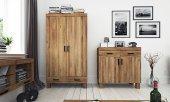 Szafa BINGO 2-drzwiowa z litego drewna