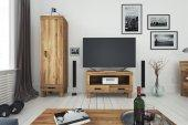 Szafka RTV BINGO z litego drewna