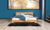 Łóżko MOLA z litego drewna