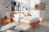 Łóżko BONA niskie z litego drewna
