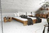 Rama łóżka CUBIC z litego drewna