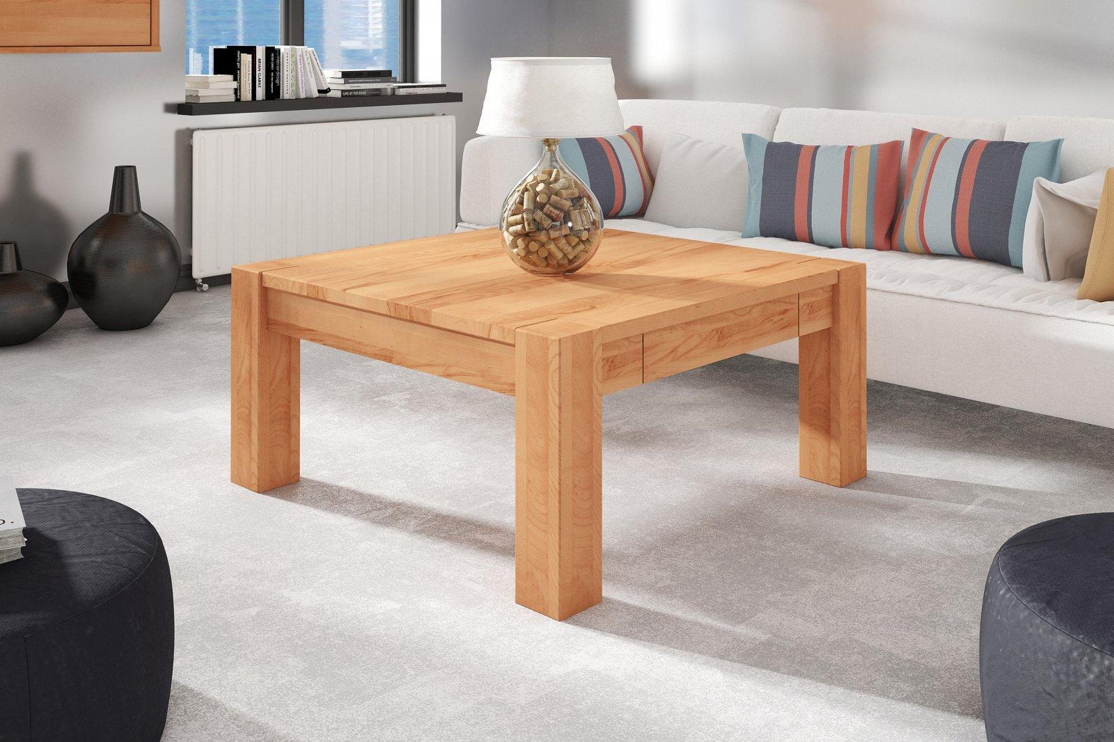 Stolik MAS z litego drewna