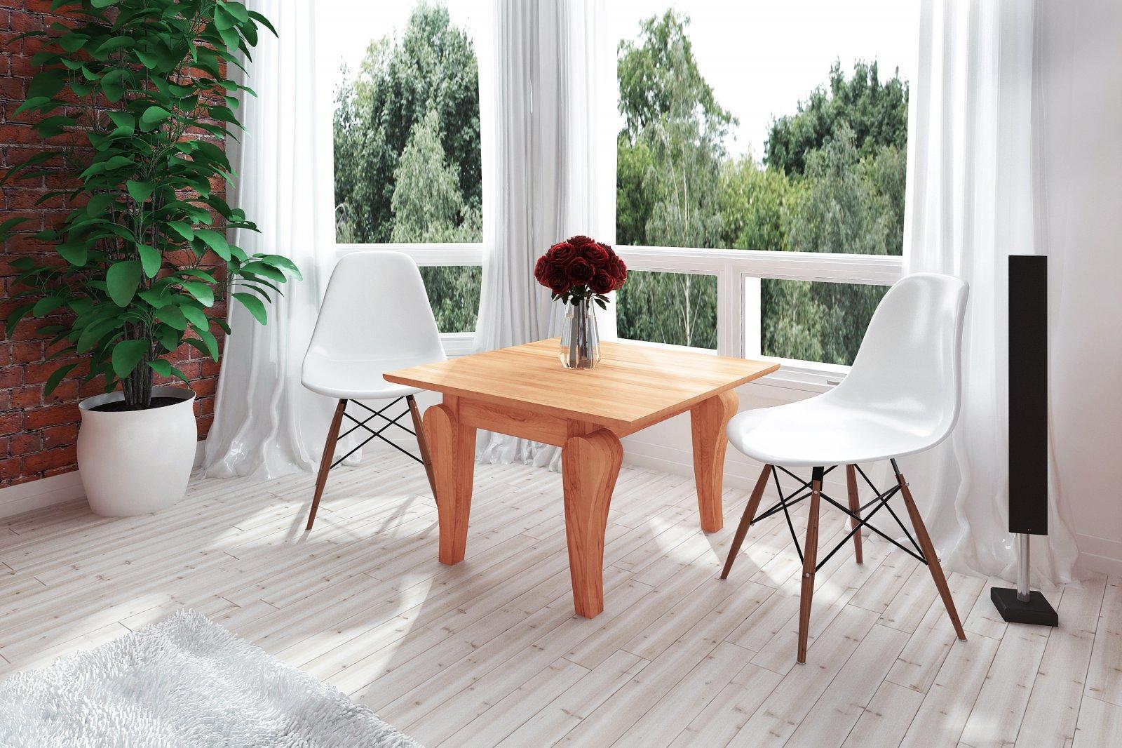 Stolik BONA z litego drewna
