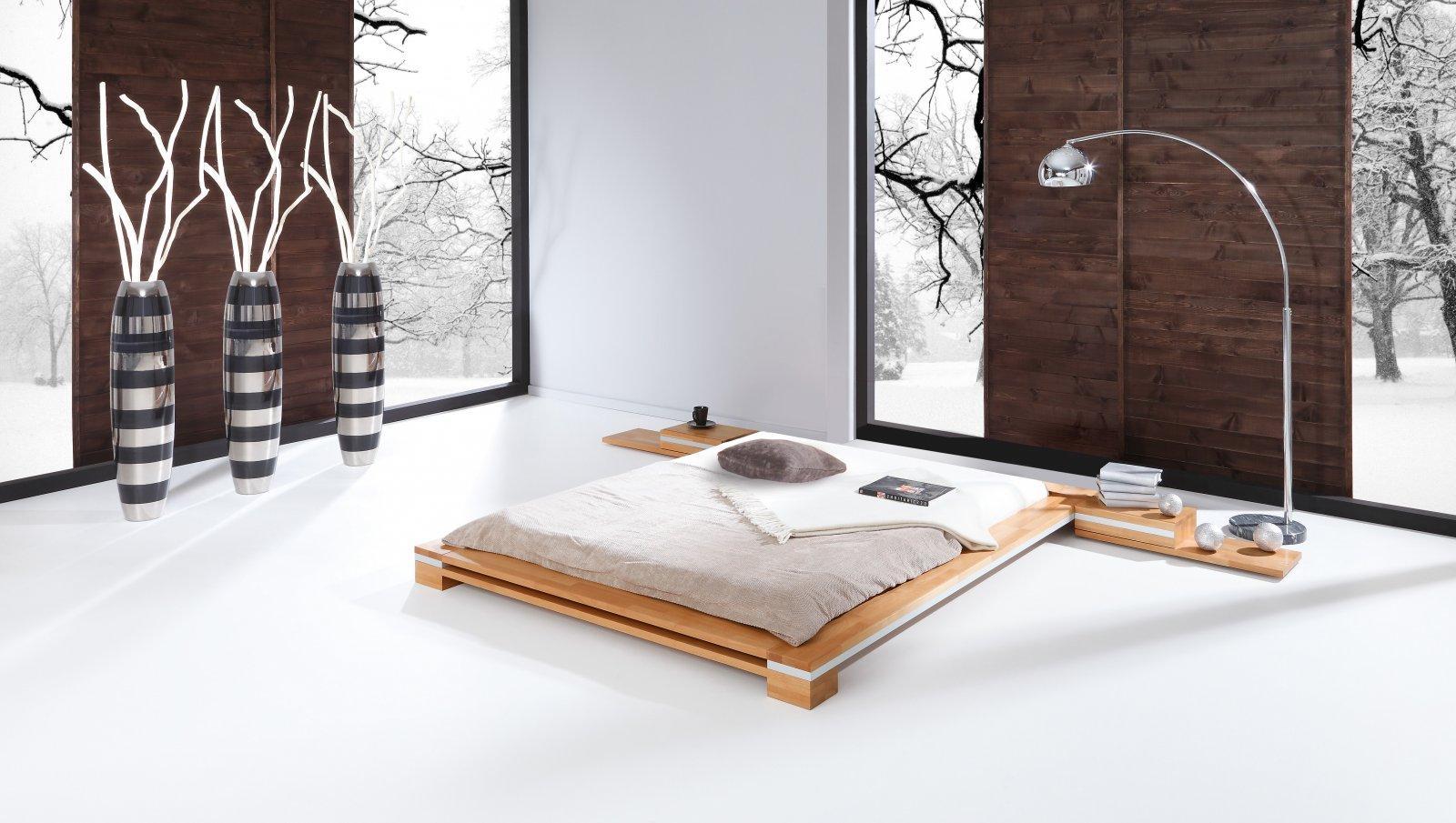 Rama łóżka TOMA z litego drewna