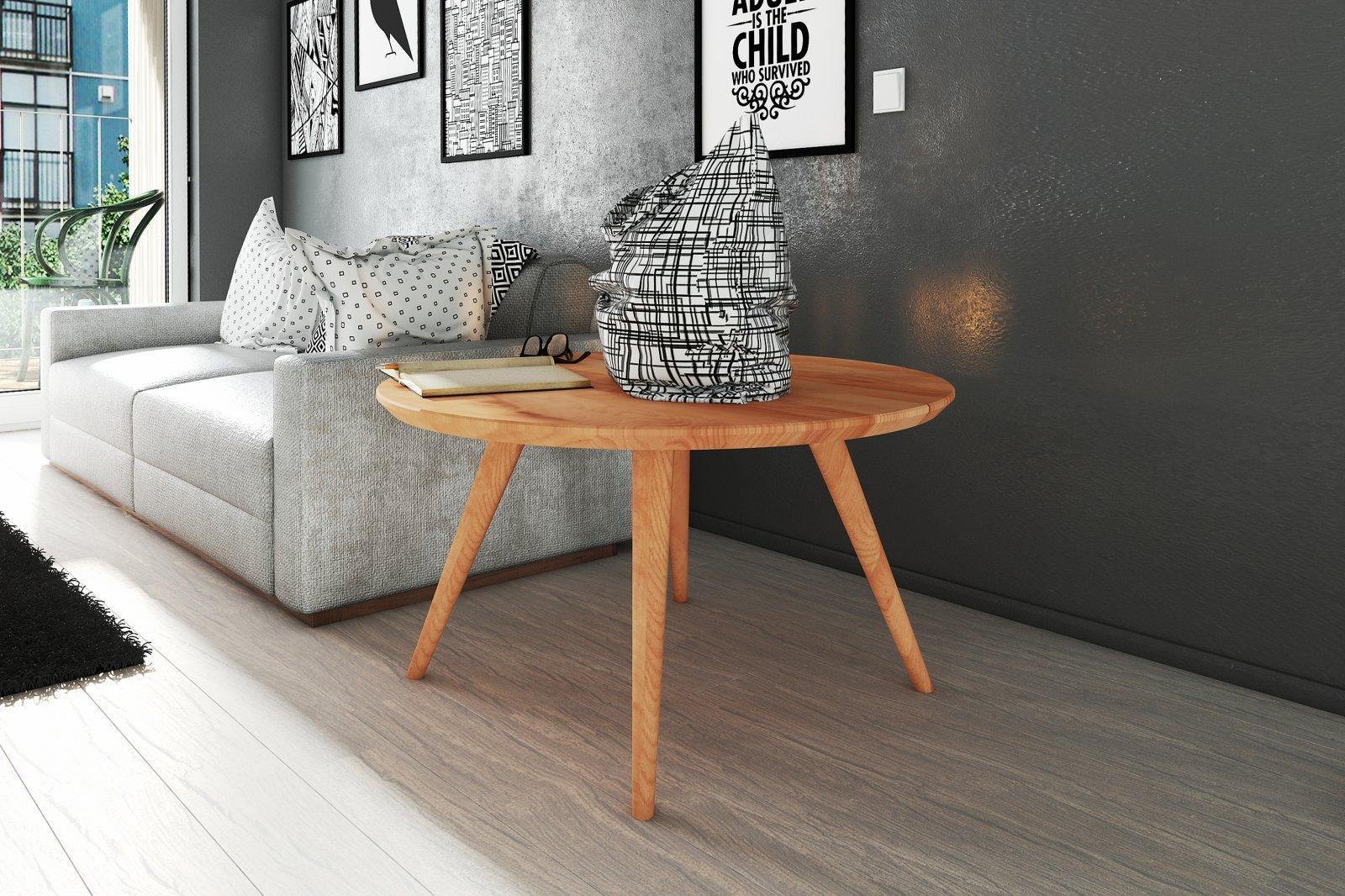 Stolik ERDA z litego drewna