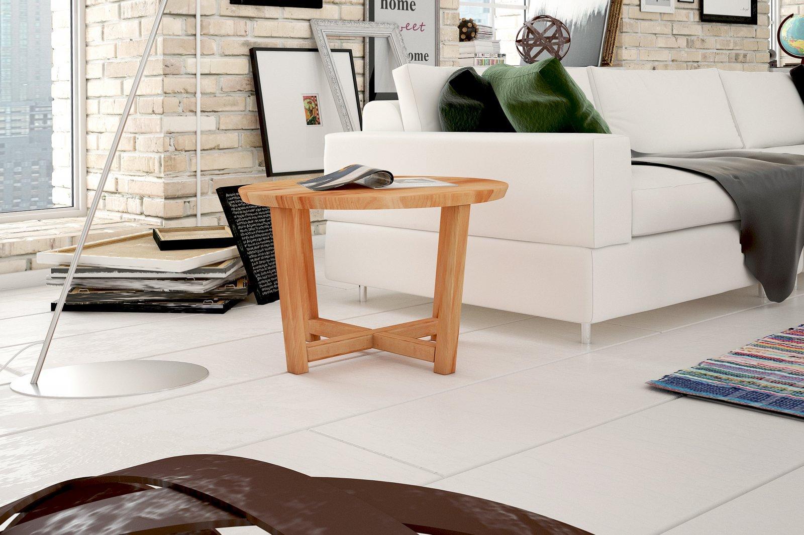 Stolik FIS z litego drewna
