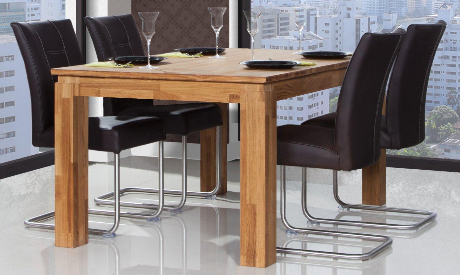 Stół VINCI z rozsuwanym blatem z litego drewna