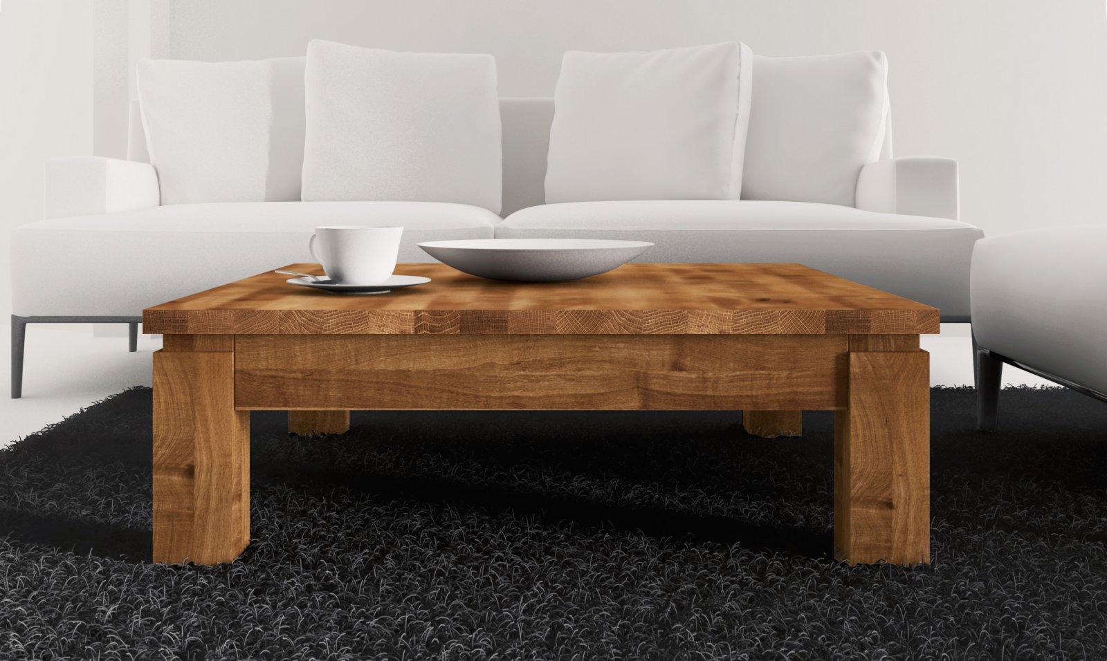 Stolik VINCI z litego drewna