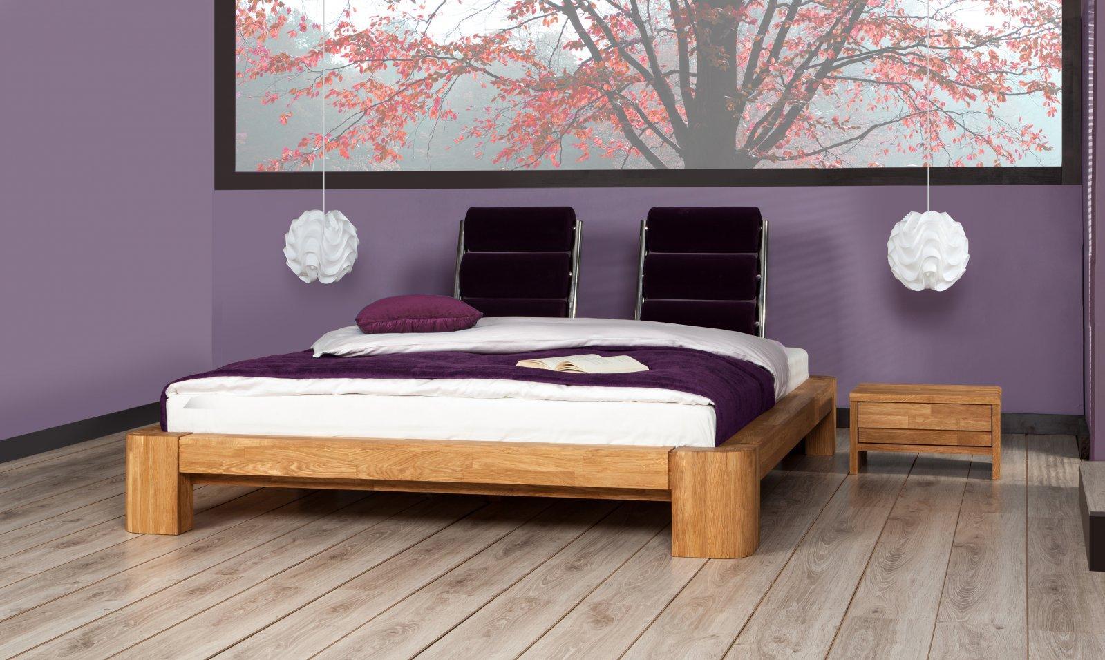 Szafka nocna PAU z litego drewna