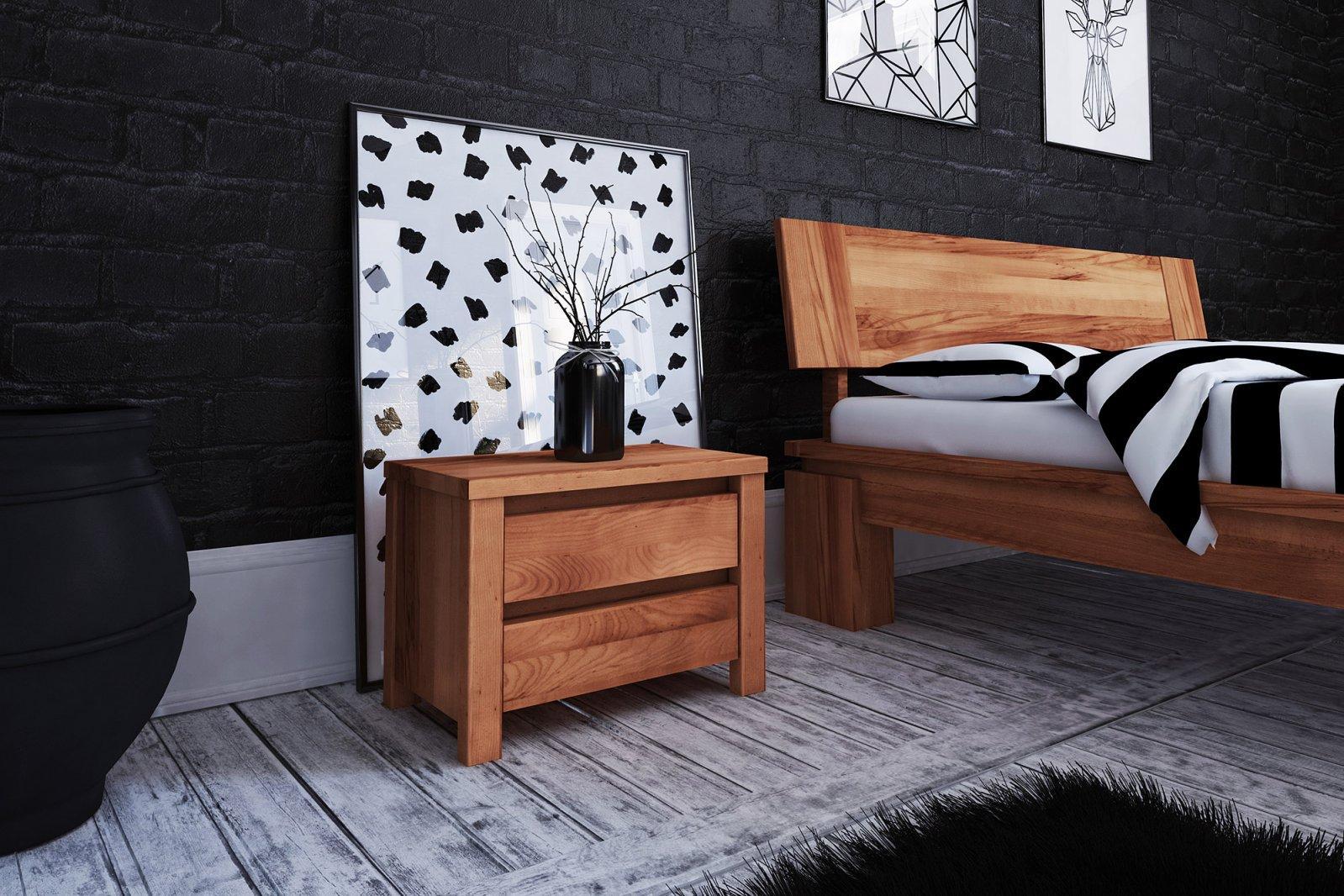Szafka nocna VINCI z litego drewna