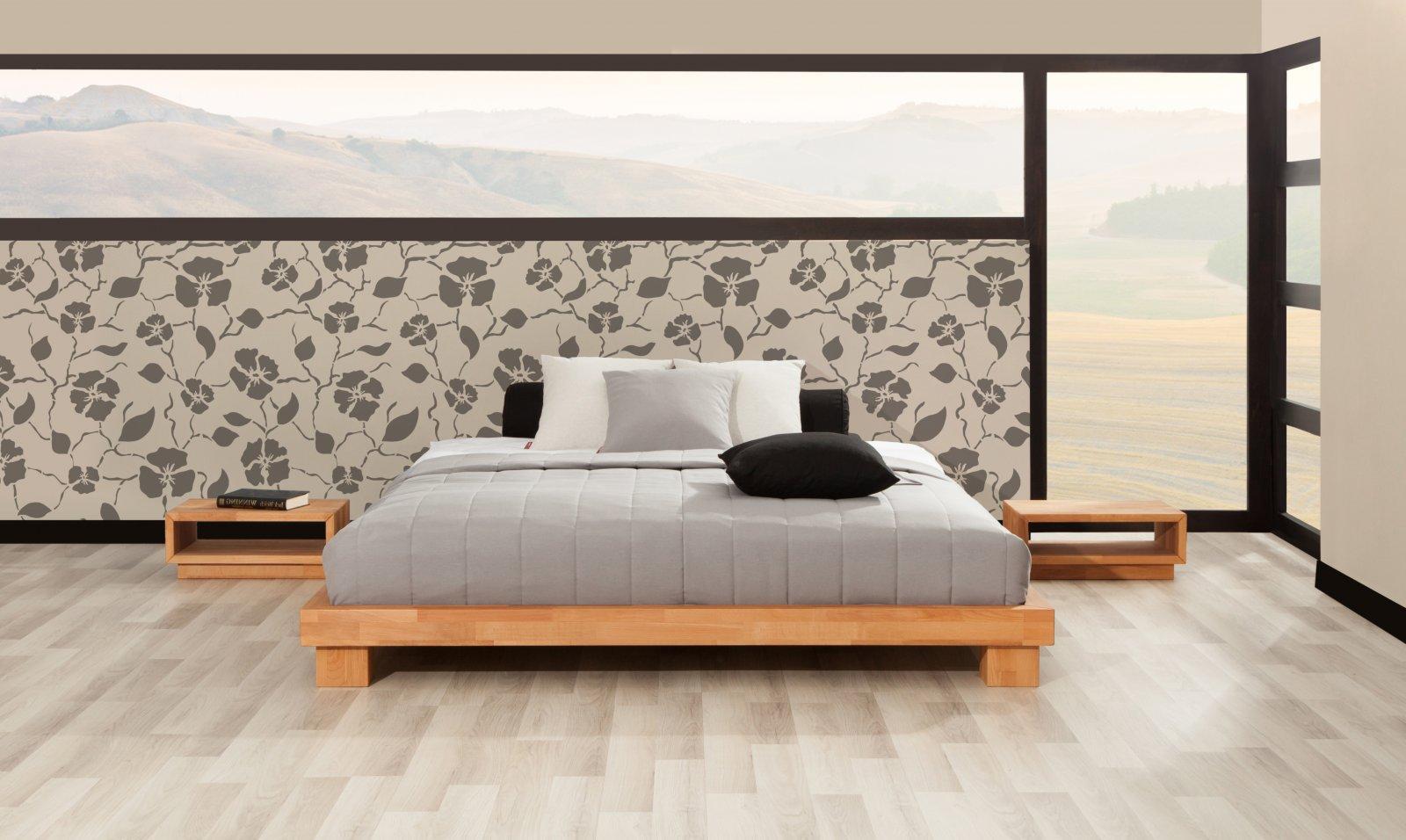Rama łóżka RASTA z litego drewna