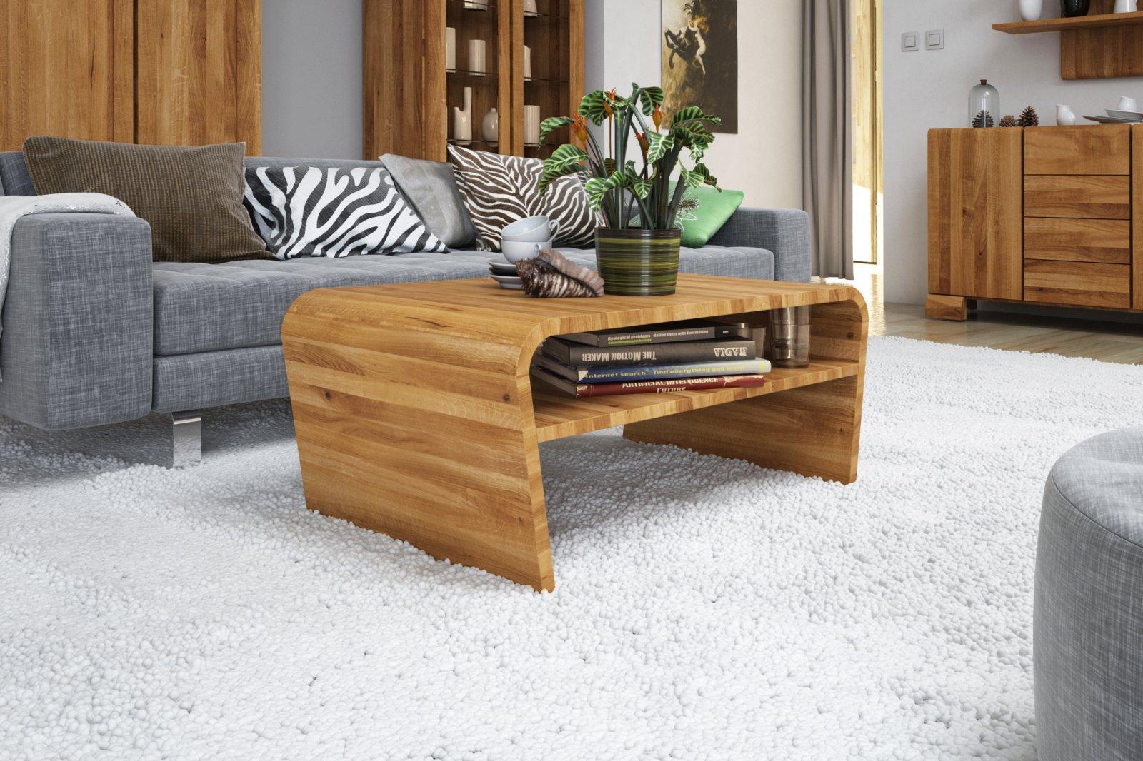 Stolik VESTO z litego drewna