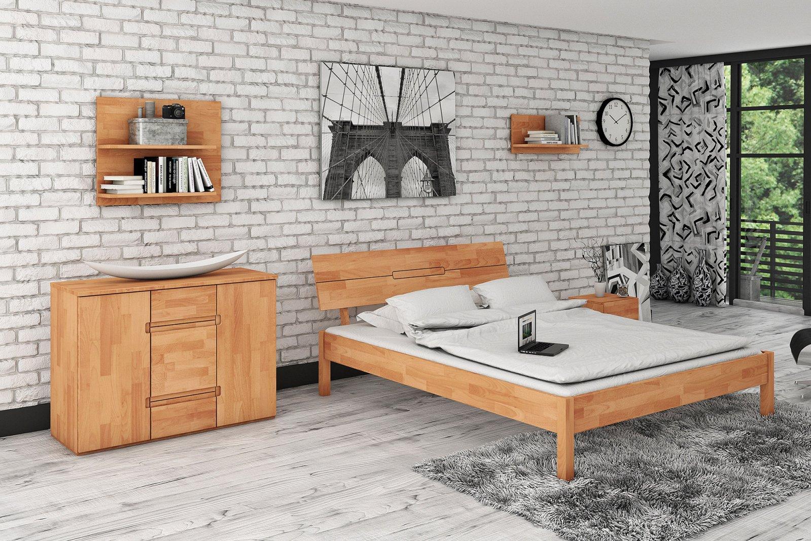 Półka VENTO z litego drewna