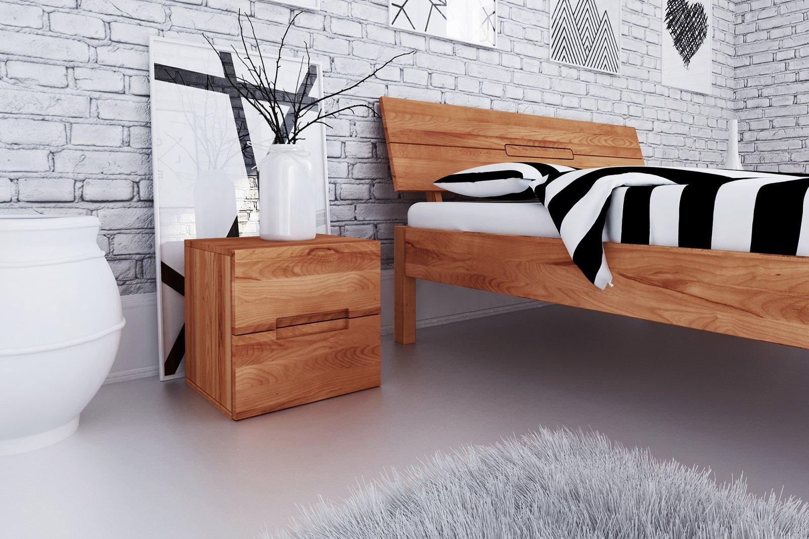 Szafka nocna VENTO z litego drewna