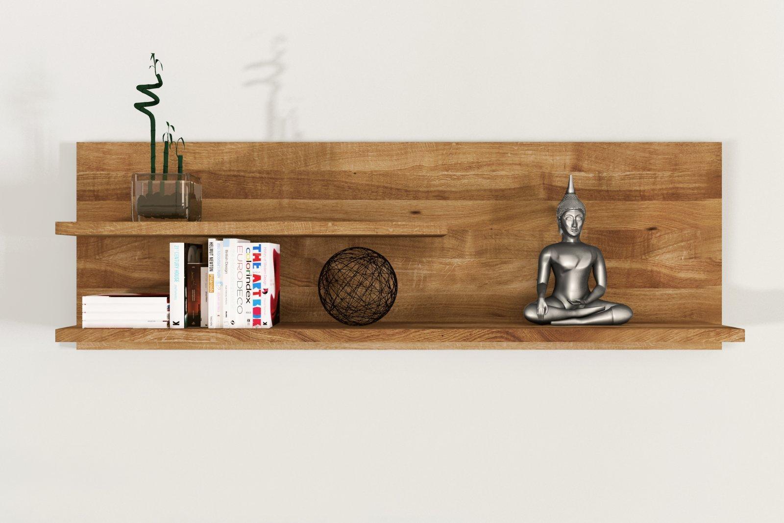 Półka VINCI duża z litego drewna