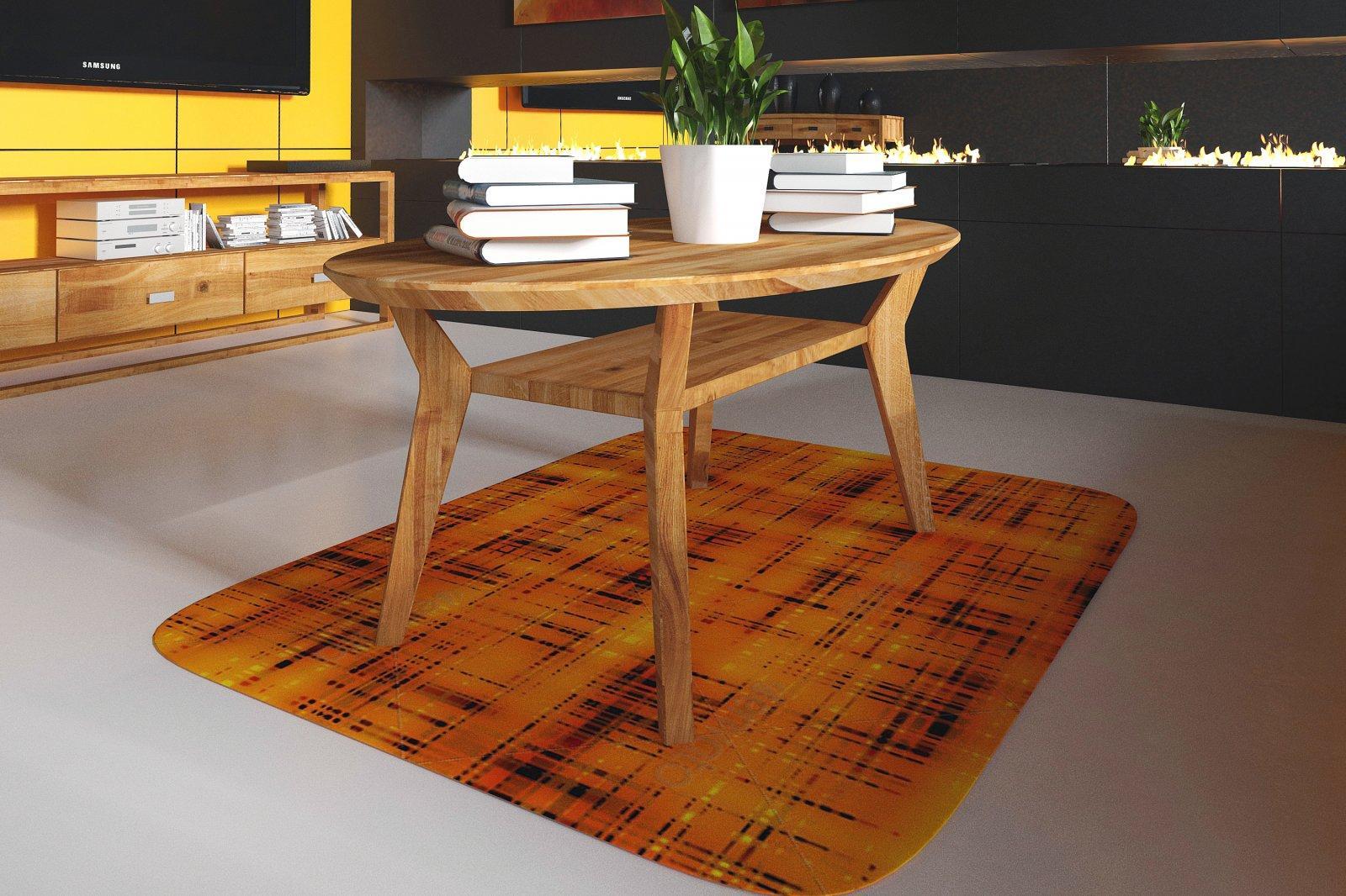 Stolik VIS z litego drewna