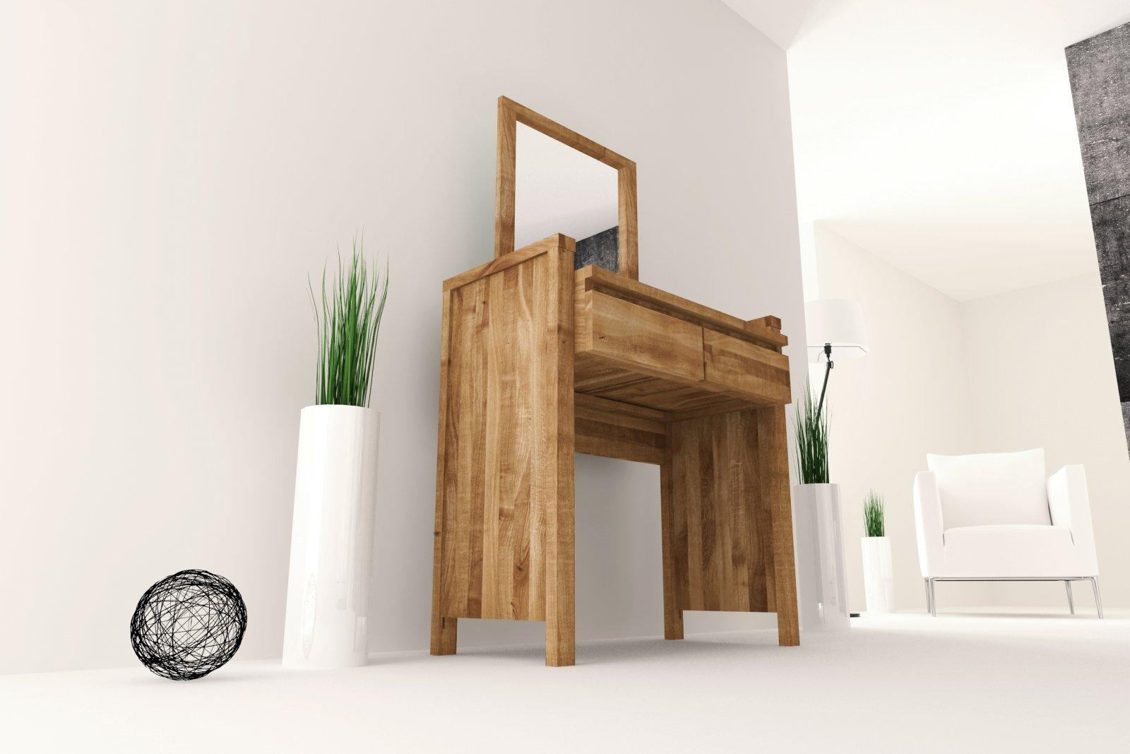 Toaletka VINCI z litego drewna