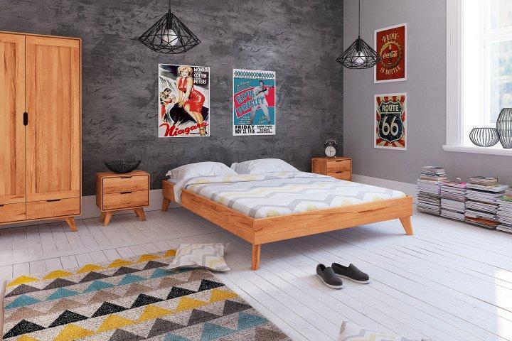 Rama łóżka Greg Z Litego Drewna Loz2403 Sklep Meblowy The Beds