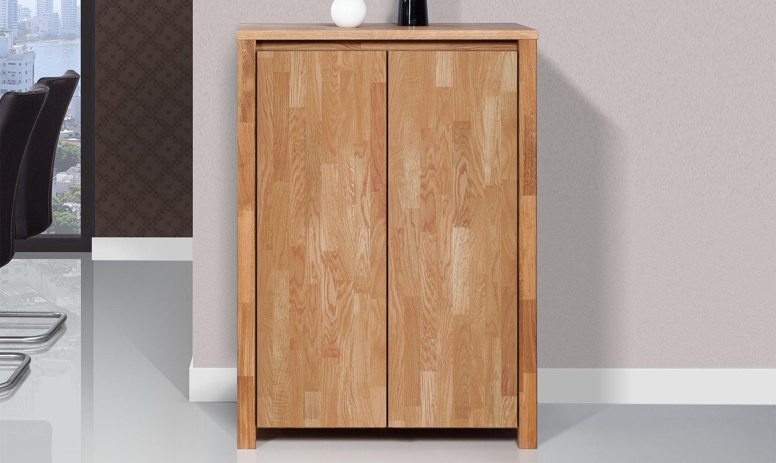Komoda VINCI wysoka z litego drewna