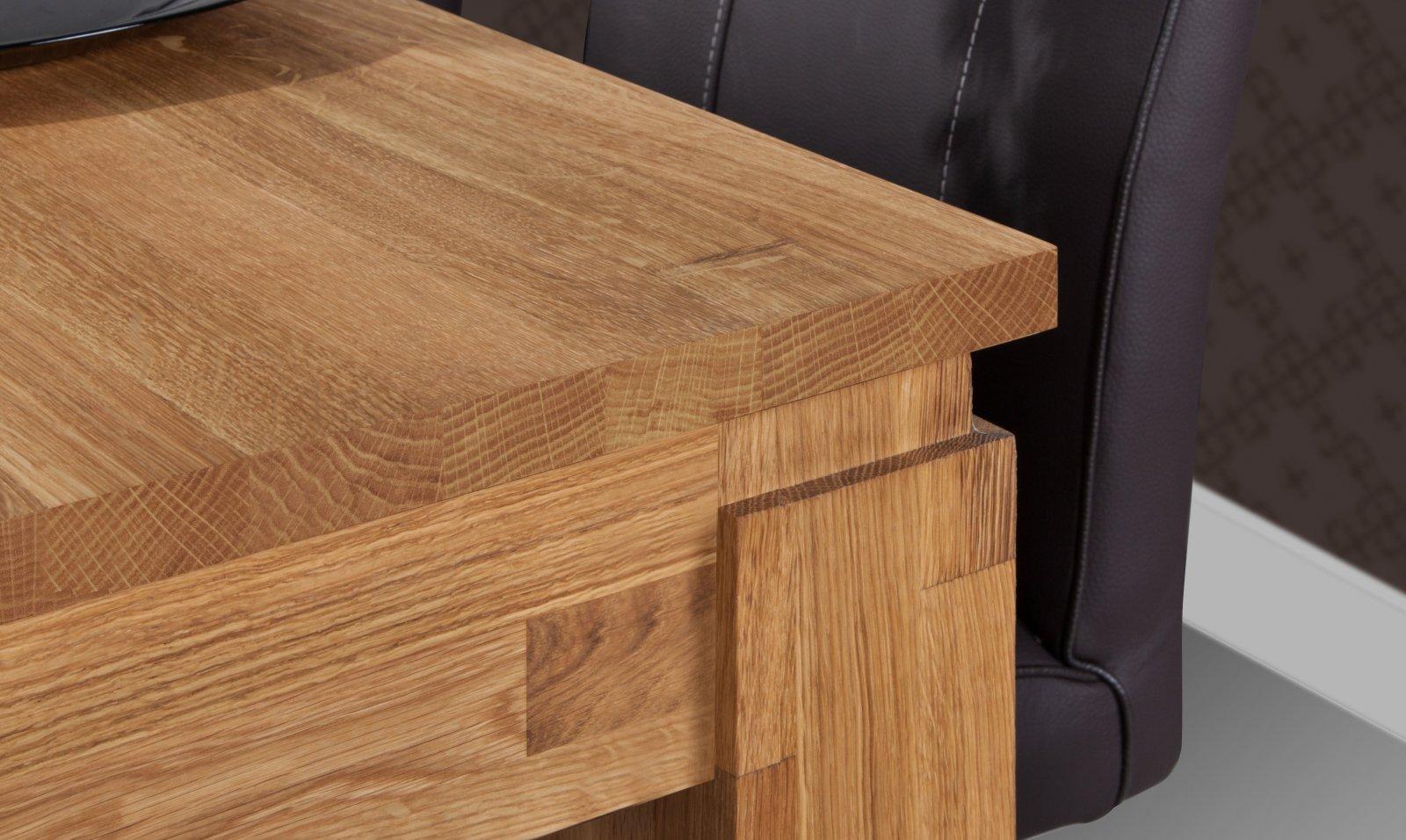 Stół VINCI nierozkładany z litego drewna