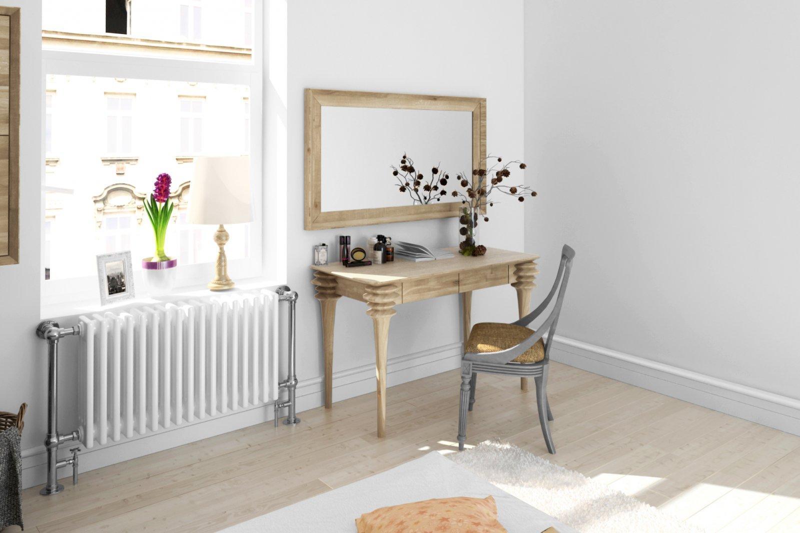 Lustro PARIS z litego drewna