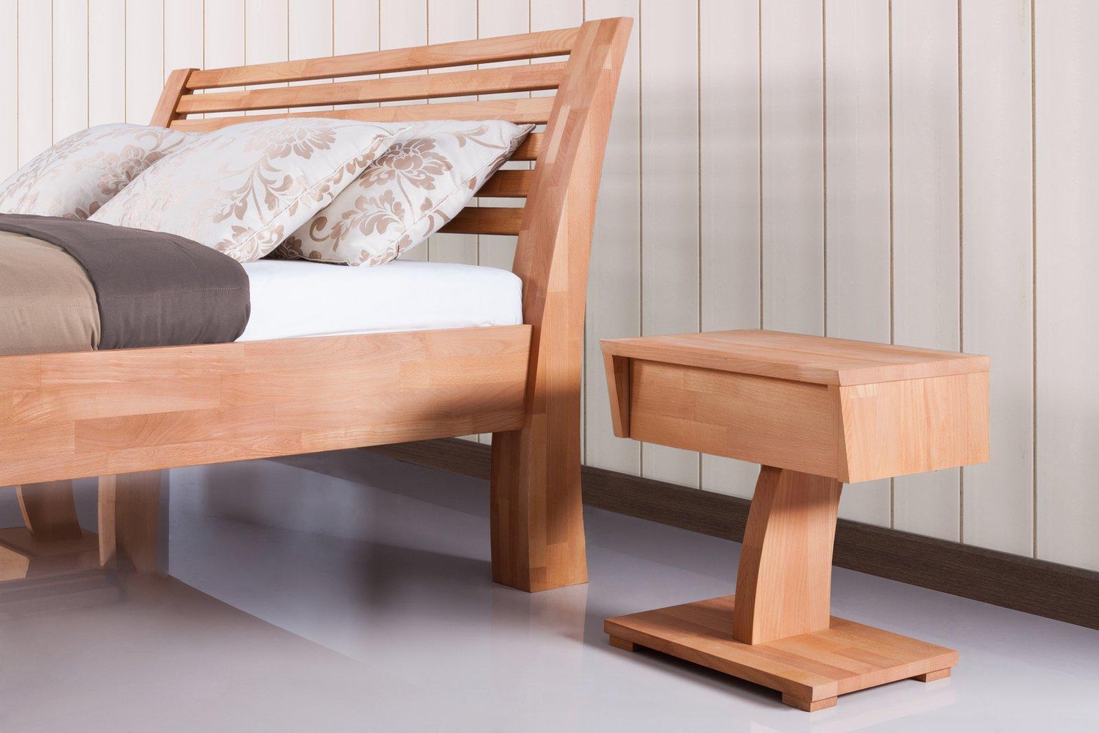 Szafka nocna BARON z litego drewna