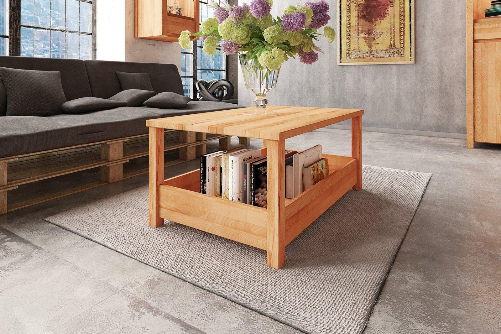 Stolik VINCENT z litego drewna