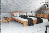 Łóżko CUBIC z litego drewna