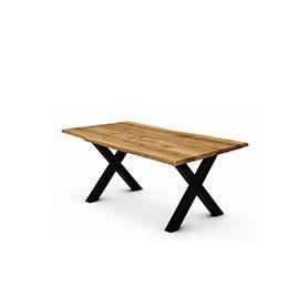 Stół z naturalnym blatem Calisto