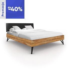 Łóżko GOLO 1 z tapicerowanym szczytem