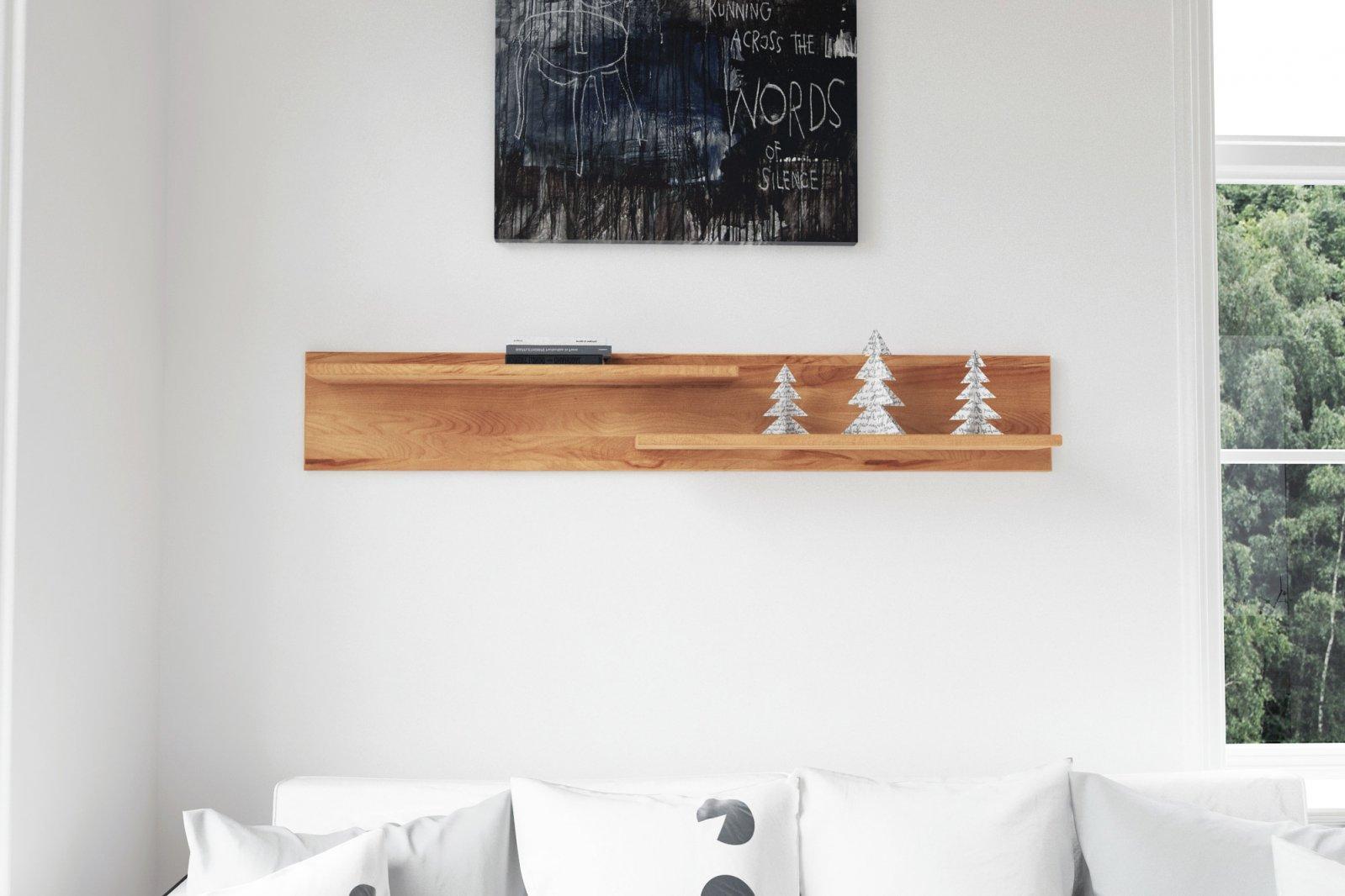 Półka VIGO z litego drewna