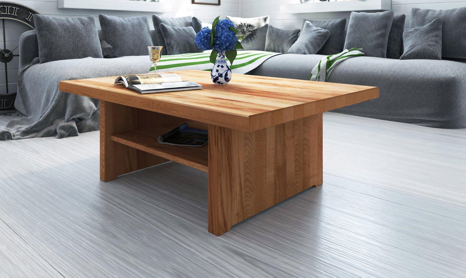 Stolik VIGO z litego drewna