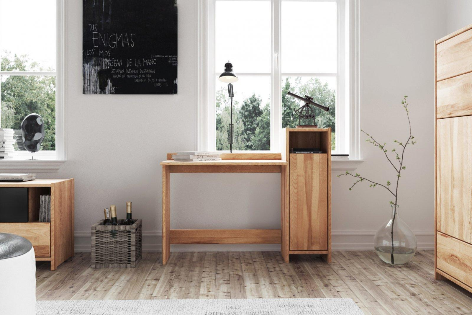Biurko VIGO z litego drewna