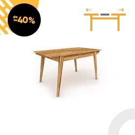Stół z rozsuwanym blatem RETRO