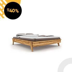 Rama łóżka RETRO