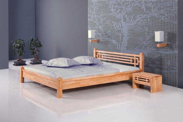 Łóżko TOKIO z litego drewna