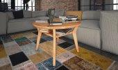Stolik VISIO z litego drewna