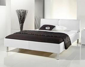 Łóżko LOLA z ekoskóry