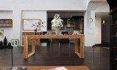 Stół MINIMAL rozkładany z litego drewna