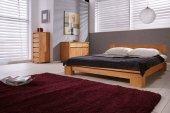Łóżko VINCI niskie z litego drewna