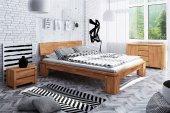 Łóżko VINCI wysokie z litego drewna