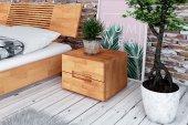 Łóżko VENTO E z litego drewna