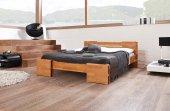 Łóżko TI wysokie z litego drewna