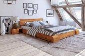 Łóżko SETI niskie z litego drewna